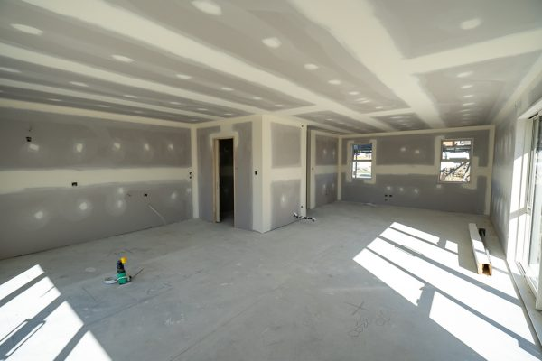 Quality finishing from KMC interior plastering