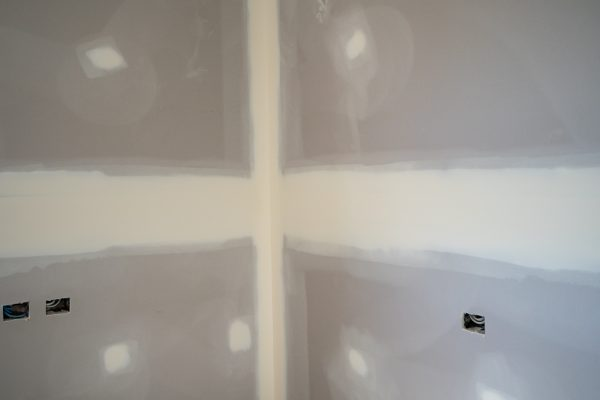 KMC's plastering has a clean finishing