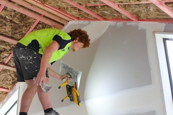 KMC can do the plastering for your renovation job