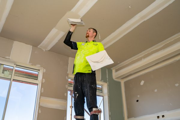 Our team are specialised and do high quality plastering
